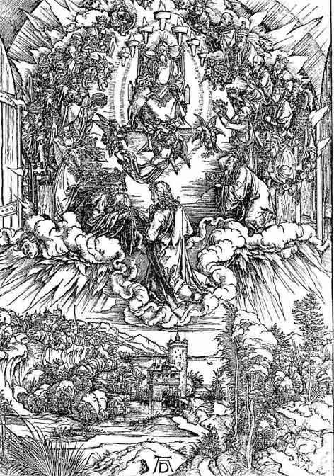 تصوير خدا در هنر مسيحي